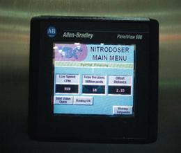 Liquid nitrogen doser